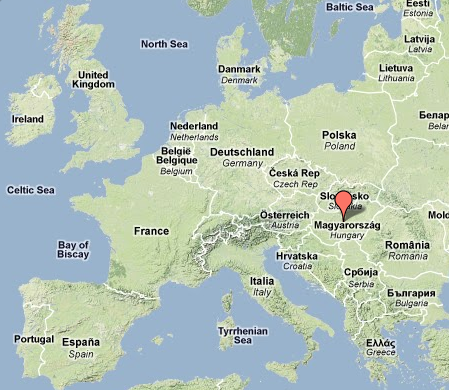 where is budapest hungary