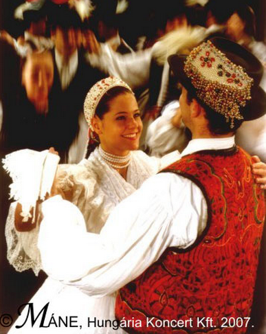Hungarian Folk Wedding Dance