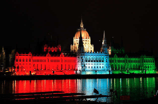 Hungarian Parliament on October 23