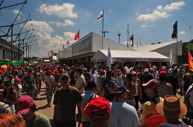 Hungarian F1 Village - Mogyorod - photo by Cameron Rogers
