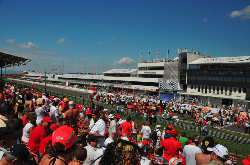 Hungarian GP - Stands before Start - photo by Cameron Rogers