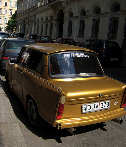 The Golden Trabant in Budapest